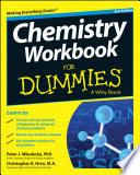 Chemistry Workbook For Dummies Book
