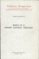Basics of a Roman Catholic Theology Pdf/ePub eBook