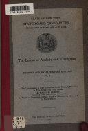 Eugenics And Social Welfare Bulletin No 2 1912