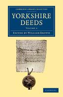 Yorkshire Deeds: