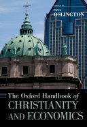 The Oxford Handbook of Christianity and Economics Pdf/ePub eBook