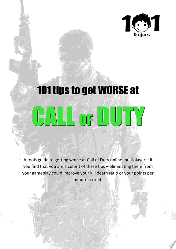 101 tips to get WORSE at Call of Du