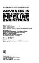 Advances in Underground Pipeline Engineering