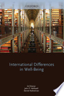 International Differences in Well Being