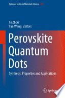 Perovskite Quantum Dots Book
