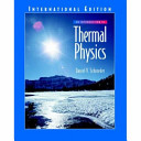 An introduction to thermal physics /