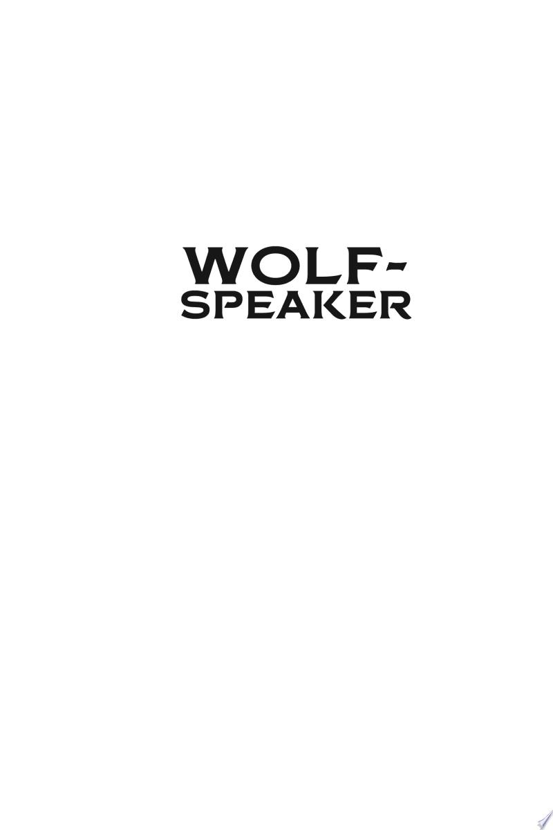 Wolf-speaker banner backdrop