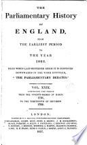 Cobbett's Parliamentary History of England: 1791-1792