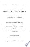 The Bertillon Classification of Causes of Death