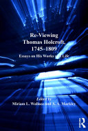 Pdf Re-Viewing Thomas Holcroft, 1745-1809 Telecharger