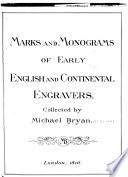Marks & monograms of early English & continental engravers