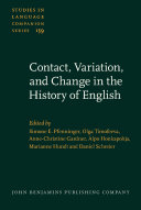 Pdf Contact, Variation, and Change in the History of English Telecharger