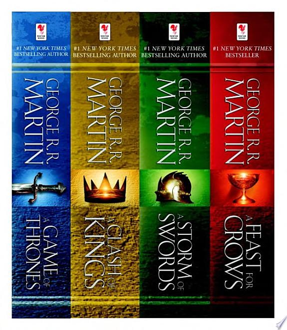 A Game of Thrones 4-Book Bundle image
