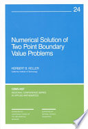 Numerical Solution of Two Point Boundary Value Problems