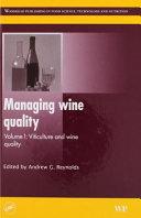 Managing Wine Quality