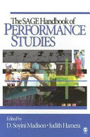 The SAGE Handbook of Performance Studies