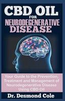 Cbd Oil For Neurodegenerative Disease Book PDF