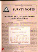 Survey Notes - Utah Geological and Mineral Survey
