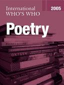 International Who's Who in Poetry 2005 Pdf/ePub eBook