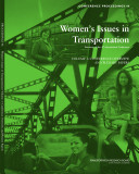 Women's Issues in Transportation
