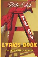 BILLIE EILISH Lyrics Book