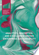 Analytics  Innovation  and Excellence Driven Enterprise Sustainability
