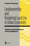 Landownership and Residential Land Use in Urban Economies