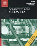 MCSE Guide to Microsoft Windows 2000 Professional Book