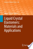 Liquid Crystal Elastomers: Materials and Applications