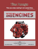 Motors and Engines Coloring Book for Adults