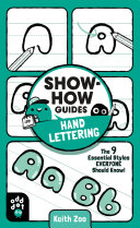 Show How Guides  Hand Lettering