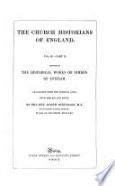 The Historical Works of Simeon of Durham