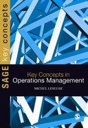 Key Concepts in Operations Management Pdf/ePub eBook
