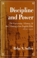 Discipline and Power