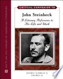 Critical Companion to John Steinbeck Book