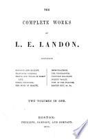 The Complete Works of L  E  Landon Book PDF