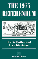 The 1975 Referendum Pdf/ePub eBook