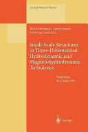 Small Scale Structures in Three Dimensional Hydrodynamic and Magnetohydrodynamic Turbulence