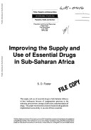 Improving the Supply and Use of Essential Drugs in Sub-Saharan Africa