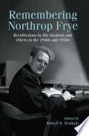 Remembering Northrop Frye