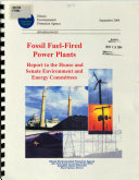Fossil Fuel-fired Power Plants