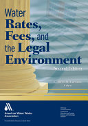 Pdf Water Rates, Fees, and the Legal Environment