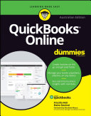 Cover of Quickbooks Online For Dummies Australian Edition