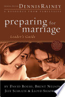 Preparing For Marriage Leader S Guide Book PDF