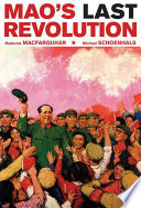 Mao   s Last Revolution Book
