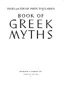 Ingri and Edgar Parin D Aulaire s Book of Greek Myths