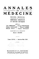 Annales de médecine