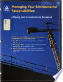 Managing Your Environmental Responsibilities Book PDF