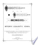 Biographical and Historical Memoirs of Story County, Iowa