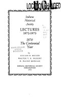 Lectures 1972-1973